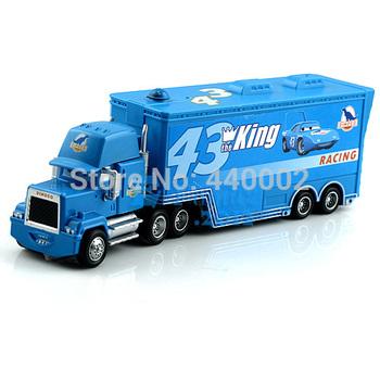 pixar car 2 alloy & plastic Mack cars plastic truck the king racing 43# toy car