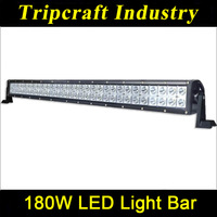 "31.5"" Epistar 180w 9-70V led light bar offroad ATV tractor Truck Trailer SUV Off road Boat light"