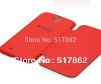 Free Shipping 100% Original Lenovo S820 Leather Cover Case Black White In Stock Lenovo S820 Case Gift Screen Protector