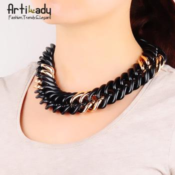 Artilady hot sale  chain necklace jewelry  choker collar 2014 women jewelry