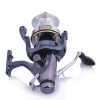 2014 New 1pc Free Shipping Mitchell OS8000FR Superior Baitrunner Carp Spinning Fishing Reel 6BB 4.9:1 Fishing Reels Tackle