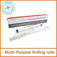 multi-purpose rolling Parallel Ruler  30cm & 12inch