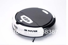 Home Robot Vacuum Cleaner(Cleanmate,Sweeper) with Virtual Wall,LCD Display ,Mopper and auto-charge functions(China (Mainland))
