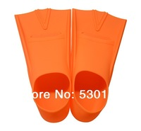 High Quality 100% Silica Gel Red Swimming Fins Swimming flippers-F801