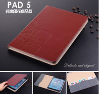 "High-grade For ipad Air Case ,Flip Cover Case for ipad 5 ,High Quality fashion Leisure Stand leather for 9.7"" tablet pc"