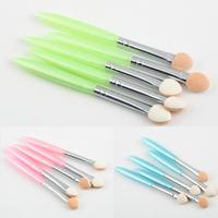 1 set Beauty Eye Shadow Eyeliner Brush Sponge Tool Makeup Cosmetic Free Shipping