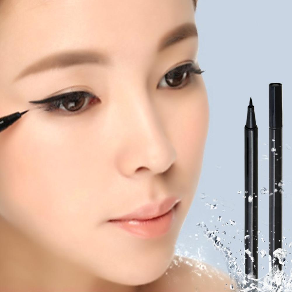 1 pcs liquid eyeliner Pen eye make up eyeliner pencil makeup Gel Thin Design Waterproof Eyeliner pen for eye liners(China (Mainland))