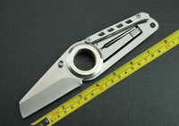 FREE SHIPPING New All Steel Handle Folding pocket Knife 277A