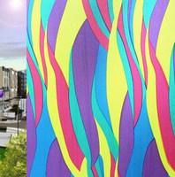 New arrival Colorful Window Films Sunscreen Sun-shading Sliding Door Glass Film Scrub  Free Shipping