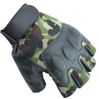 Outdoor sports tactics half gloves Military Tactical Swat Airsoft Hunting Motorcycle Cycling Racing Riding Gloves Armed Mittens