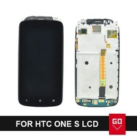 100% New For HTC One S Z520e LCD Display screen With Touch Screen Digitizer Assembly complete With Frame
