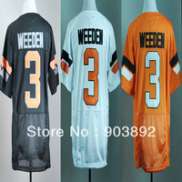 Ncaa Oklahoma State #3 Brandon Weeden orange/ white/ black college football jerseys mix order free shipping
