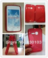 Soft TPU Ultra Thin Matte Back Case Cover  For  Alcatel one touch Pixi 4007 4007X 4007E  4007D