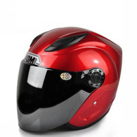 Free Shipping Cool Fashion Style Half Face Street/ City Motorcycle Helmet 3Colors Size L