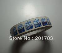 Free shipping !!NEW Original 1000pcs/roll CORE 2 DUO inside sticker 20x16MM