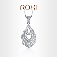 ROXI  Exquisite luxurious necklace platinum plated withAAA zircon,fashion Environmental Micro-Inserted Jewelry,103021750