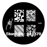 Fedex Free Shipping M F QA Series Stainless Steel Image Plate Nail Art Stamping Plate 1000PCS