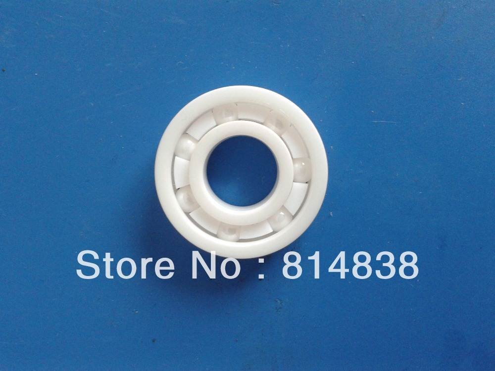 Шариковый подшипник с глубоким жёлобом 606 6 x 17 x 6 ZrO2 606 full zro2 ceramic deep groove ball bearing 6x17x6mm good quality