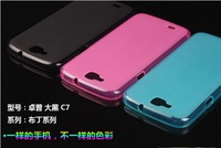 New Soft Case Cover & Screen Protector For ZOPO C7 / ZP990 990 Smart Phone,Free Shipping
