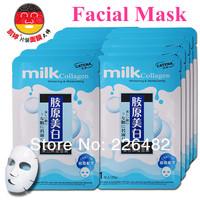 6pcs/Lot   CATENA  Original  Facial  Mask  Milk Collagen  Whitening  Hydrating  Face mask  Cosmetics Items  Factory  Direct Sale
