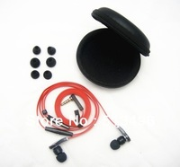 3.5mm In-ear Stereo Headphone Earphone For MP3 Iphone With 6 Earbuds In Storage Case  Free Shipping