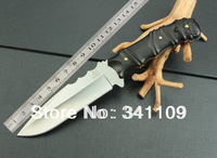 Fox-M2 straight knife, high-quality collection knives, outdoor survival kit, camping hunting knife free shipping