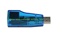 USB 2.0 to RJ45 10/100 mbps USB Ethernet Network card LAN Adapter  free shipping