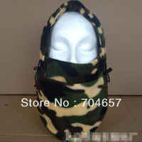 2013 winter ski warm camouflage outdoor cap,high quality fleeces CS mask, fleeces hat Riding headgear 1 pcs free shipping