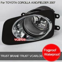 Free Gifts + Free Shipping Car Fog Lamp for TOYOT COROLLA 2010 + TOYOTA COROLLA AXIO 2007 + TOYOTA  FIELDER 2007