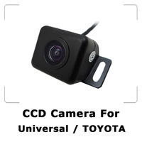 Universal Mini Car Rear view Camera With CCD Sensor Waterproof For Toyota Night Vision 170 degree Wide View Free Shipping