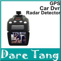 Free Shipping 100% Original Conqueror GR-H8+ Radar Detector With Car DVR Camera HD 720P + GPS + G-Sensor + Russian Language