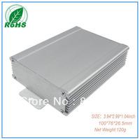 Xindasz XDM05-17 wall mount aluminium High Quality  enclosure free shipping custom aluminum 3.94*2.99*1.04inch(100*76*26.5mm)