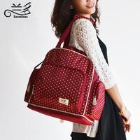 Large Capacity Multifunctional Bag Nappy Bag Infanticipate Bag One Shoulder Mommy Double-shoulder Cross-body Bag