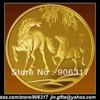 Original Mini Horse Mint Company coin .999 copper  10pcs/lot