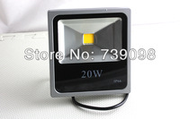 Hot sell 20W Pure  White floodlight waterproof Garden Outdoor LED Spotlight Ultra-thin IP66