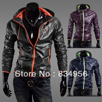 Man jacket, wind proof is prevented bask in uv sportswear, big yards with hood male fur clothing, windbreaker, free shipping