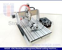 CNC 3D craving 6040 + 4th aixs 3D cnc router craving machine mini small cnc machine 4530