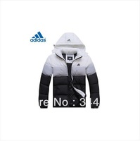 Men winter jacket ,new arrived fashion sports outdoor Winter down coat men,size:L-XXXXL,ADIDA men outerwear jacket
