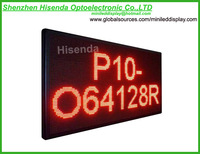 LED Scrolling Programmable Screen IP65 Waterproof/(W)53.5x(H)28.3-inch/LED Display Sign, P10, for Advertising/Outdoor Purposes