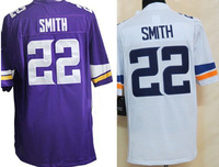Cheap Wholesale Authentic Elite Game Limited American Football Jersey #22 Harrison Smith Jersey Embroidery Logos Free Shipping