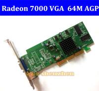 ATI Radeon 7000 64MB AGP Video Card VGA 2X /4X/ 8X RV100 For Ultrasound machine Free shipping