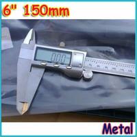 "free shipping 6"" 150mm Metal Housed Fractional Digital Vernier Caliper"