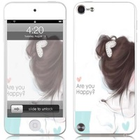 Beautiful Girl Screen Protector For iTouch 5. Fashionable Design.