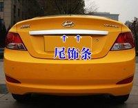 2010-2011 Hyundai VERNA/Solaris 4dr ABS Chrome Rear Trunk Lid Cover Trim