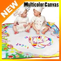 2014 Brand New 1 pcs Multicolor Drawing Mat Aquadoodle Drawing Mat Drawing Toys 1 Mat & 2 Magic Water Pens Free Shipping