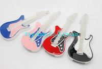 Free Shiping 4GB 8GB European Style Guitar Waterproof USB Flash Driver