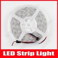 5M 5050 SMD IP67 Tube Waterproof LPD8806 IC Flexible RGB LED Strips Light 48LEDs/m DC 5V 240 LEDs
