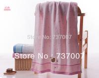 Children's bath towel untwisted bear cute cotton towel