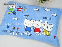 Children's lovely cute pillow towel printing design cotton pillow towel