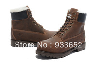 Free shipping Wholesale famous boots for mens Outdoor shoes for sale Waterproof 100% Genuine leather military winter boots